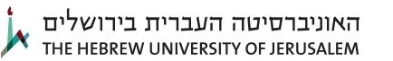 The Hebrew University of Jerusalem Logo